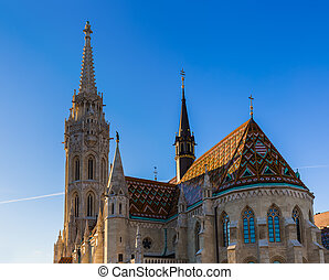 Matthias Church in Budapest Hungary