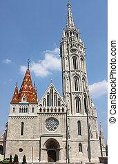 Matthias Church in Budapest