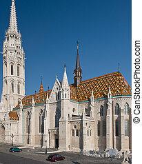 Matthias Church in Budapest - The gothical Matthias church,...