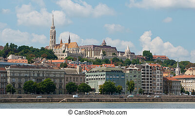 Matthias Church in Budapest - The gothical Matthias church,...