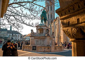 Matthias Church - Budapest, Hungary - February 14, 2015....