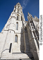Matthias Church tower Budapest