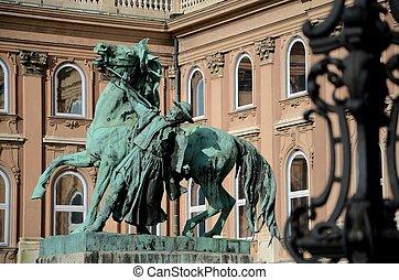 Matthias statue, Budapest Hungary