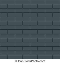 mattoni, parete, seamless, fondo.