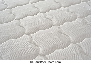 Mattress background - Background of soft comfortable quilted...
