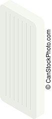 Mattress Isometric icon isolated on white background