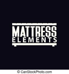 mattress Logo Template