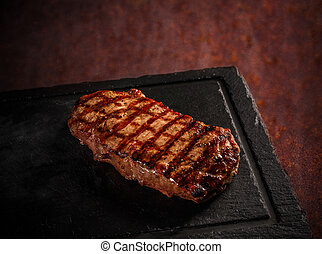Maturated Argentinian sirloin steak