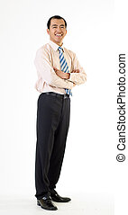 Mature business man of Asian