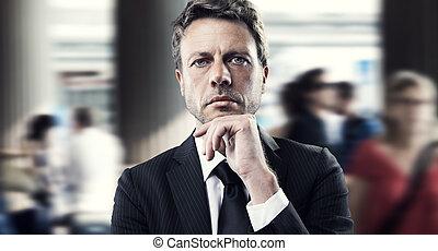 Mature businessman