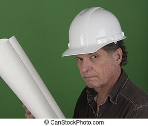 Mature Construction Man