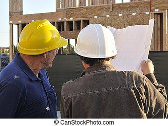 Mature Construction Team