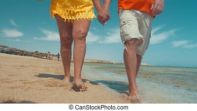 Mature Couple on Vacation