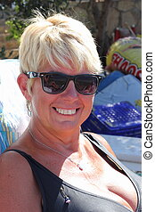 Mature wife outdoor pity, that