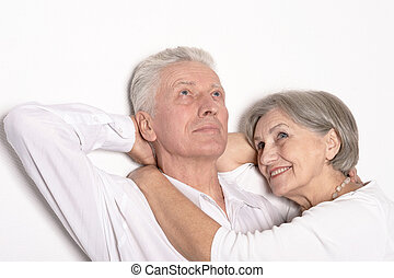 Mature man with woman