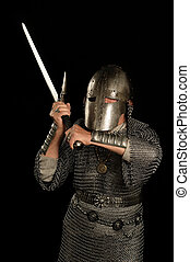 Mature Medieval knight