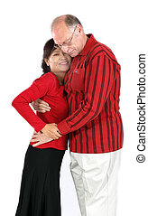 mature mixed interracial couple