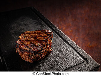 Matured Argentinian ribeye steak