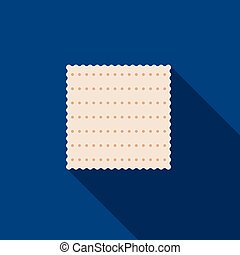 Matzah, Passover cracker vector