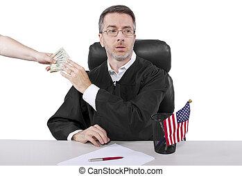 mau, juiz