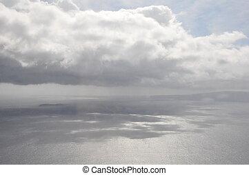 maui, 光景, 航空写真, 海岸