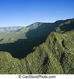 maui, 緑, mountain.