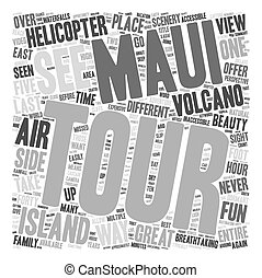 Maui By Air The Best Way Around The Island text background...