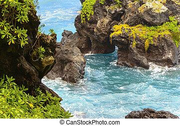 Maui, escabroso, Costa