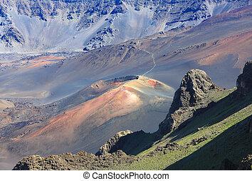 maui haleakala volcano