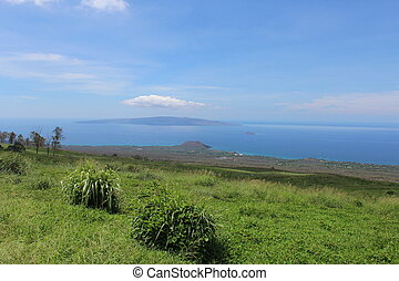 Maui Hawaii Upcountry Landscape - Landscape looking towards...
