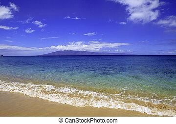 maui, praia kaanapali