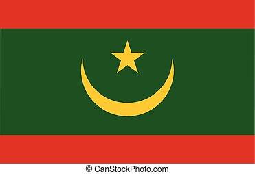 mauritania , εθνική σημαία