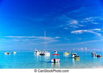 mauritius, łódki