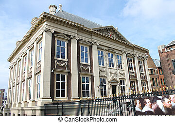 Mauritshuis Museum in Hague. Den Haag. Netherlands