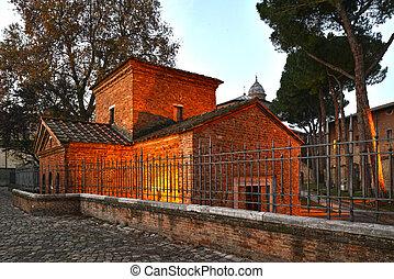Mausoleo Galla Placidia - Retro mausoleo galla placidia