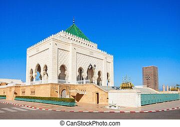 mausoleo, mahoma, v
