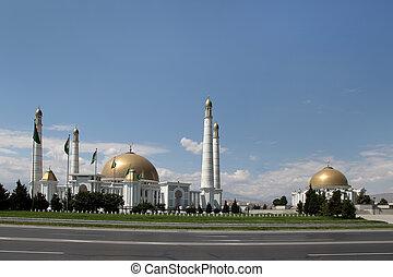 mausoleo, mezquita, o, kipchak, presidente, anterior