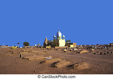 mausoleo, sufi, omdurman