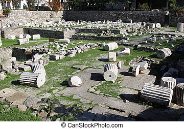 Mausoleum at Halicarnassus, Bodrum, Turkey