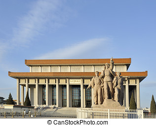 Mausoleum of Mao Zedong in Beijing