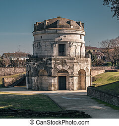Mausoleum of Theodoric - Theodoric's mausoleum in Ravenna, ...