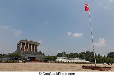 Mausoleum wide angle