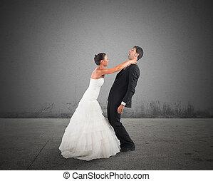 mauvais, mariage
