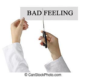 mauvais, sentiments