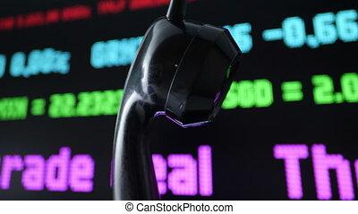 mauvais, stockage, marché financier, nouvelles