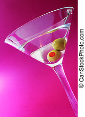 mauve, martini
