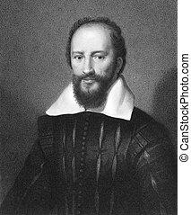 Maximilien de Bethune, duc de Sully (1560-1641) on engraving...