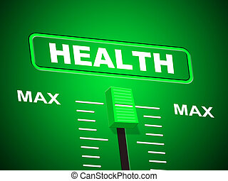maximum, zeigt, gesundheit, doktoren, medizinprodukt,...