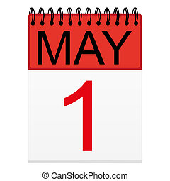 May 1 on the calendar