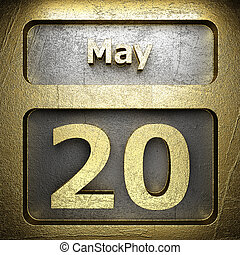 may 20 golden sign